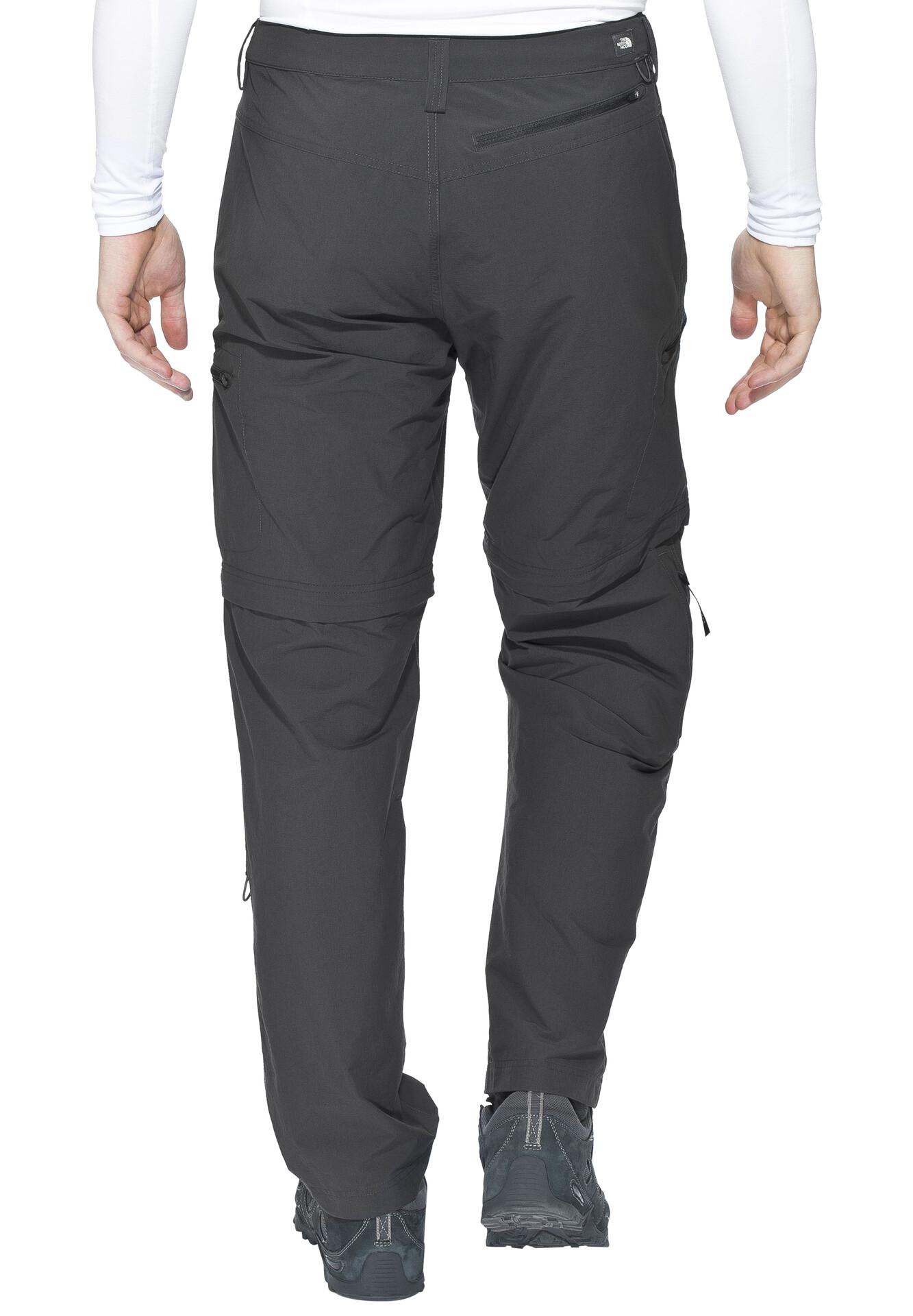 pantalon north face hombre desmontable